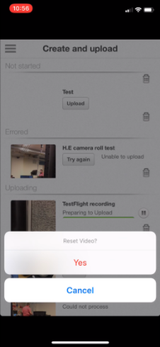 How Do I Troubleshoot Uploading Videos From iOS Devices?