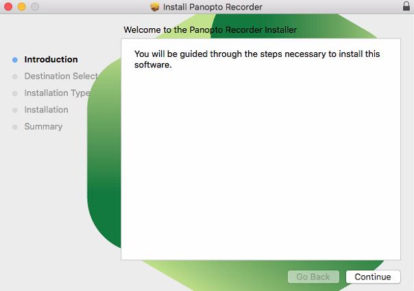 Download Panopto For Mac